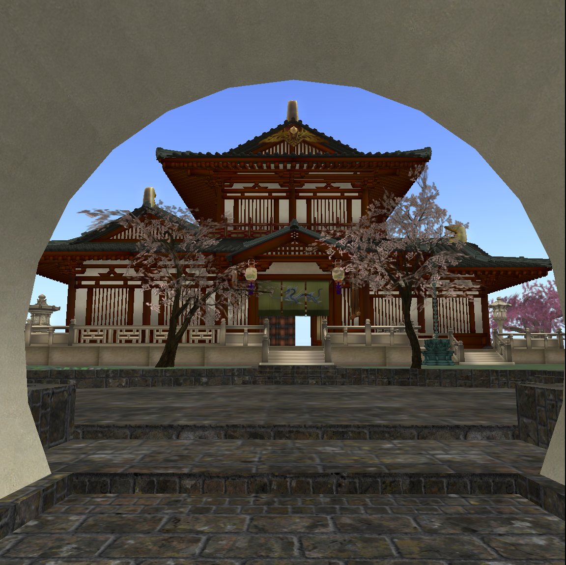 Chinese Scholars Garden – the space between