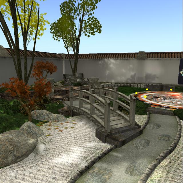 Serene Meditation Garden