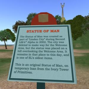 Statue of Man 2002
