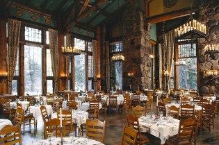 Grand Dining Room, Ahwahnee Hotel, Yosemite: National Park Service Rustic