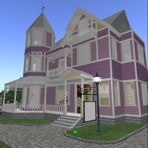 Littlefield Victorian Store, American Queen Anne Revival Style