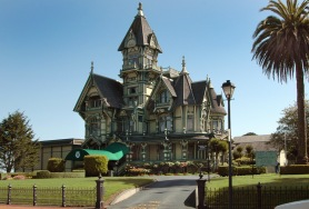 Carson Mansion, Eureka, Calif., American Queen Anne Revival Style