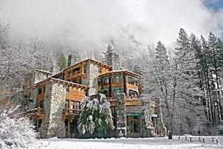 Ahwahnee Hotel, Yosemite: National Park Service Rustic