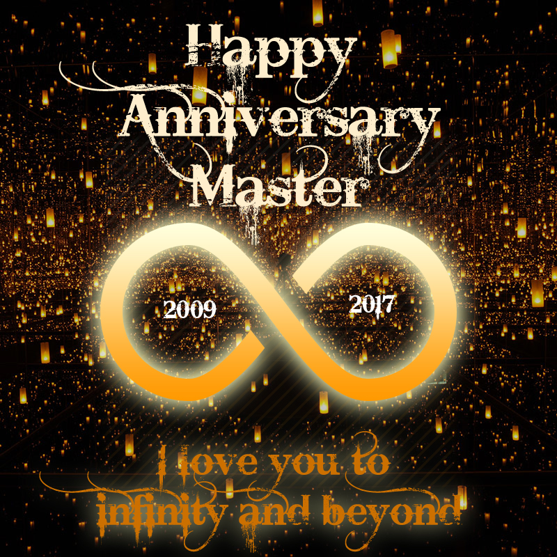 Happy 8th Anniversary Master!